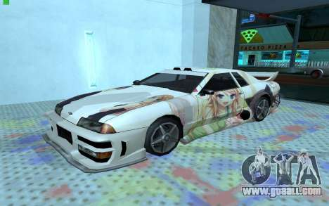 Paint work OreImo for Elegy for GTA San Andreas