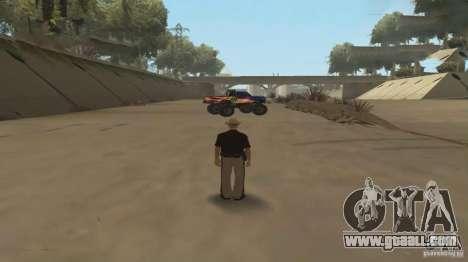 Remote control car for GTA San Andreas second screenshot