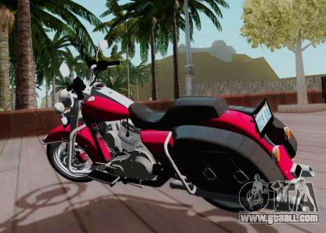 Harley-Davidson Road King Classic 2011 for GTA San Andreas back left view