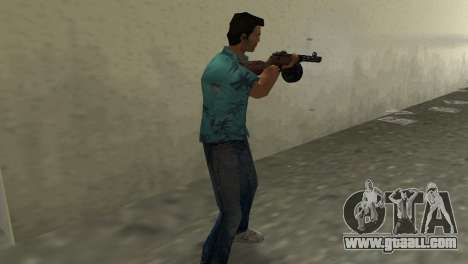 Submachine Gun Shpagina for GTA Vice City third screenshot
