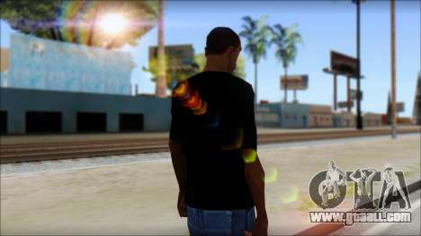 Iron Maiden T-Shirt for GTA San Andreas second screenshot
