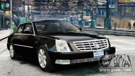 Cadillac DTS 2006 v1.0 for GTA 4