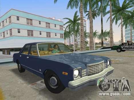 Dodge Aspen 1979 for GTA Vice City