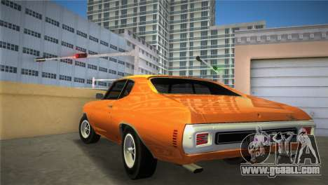 Chevrolet Chevelle SS for GTA Vice City left view