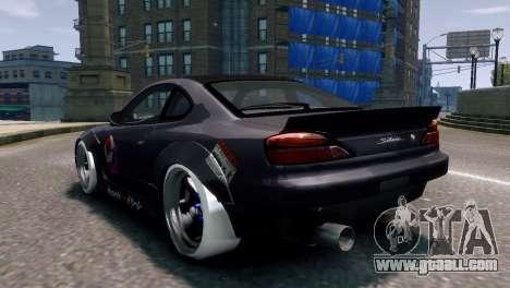 Nissan Silvia S15 Street Drift for GTA 4 left view