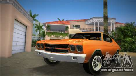 Chevrolet Chevelle SS for GTA Vice City