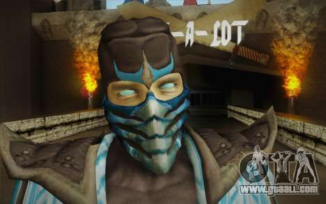 Sub Zero Skin for GTA San Andreas third screenshot