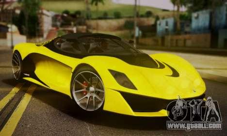 Grotti Turismo R V.1 for GTA San Andreas