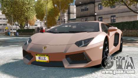Lamborghini Aventador LP700-4 for GTA 4