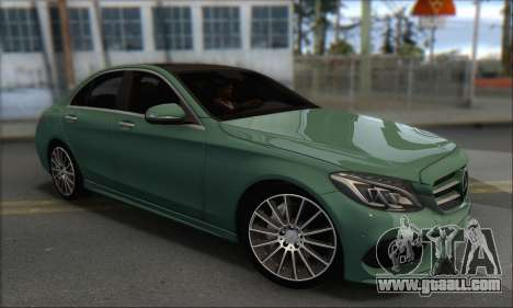 Mercedes-Benz C250 V1.0 2014 for GTA San Andreas right view