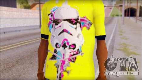 Star Wars Clone T-Shirt for GTA San Andreas third screenshot