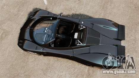 Pagani Zonda C12S Roadster 2001 v1.1 PJ3 for GTA 4 right view