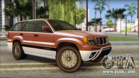 Seminole from GTA 5 for GTA San Andreas