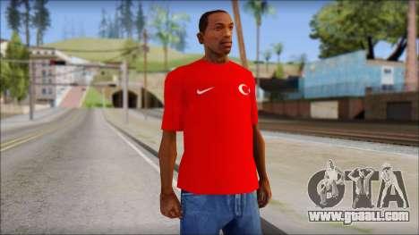 Turkish Football Uniform v4 for GTA San Andreas
