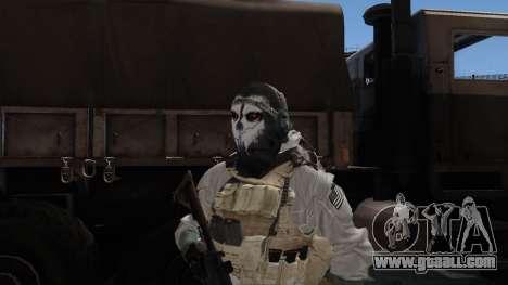 Army Ghost v1 for GTA San Andreas third screenshot