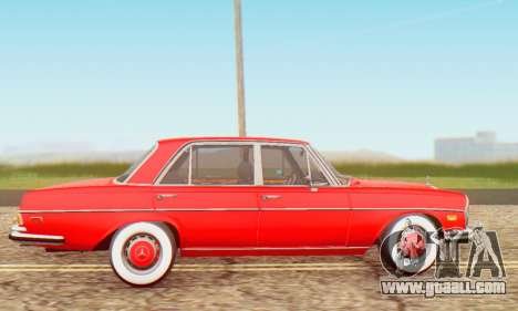 Mercedes-Benz 300SEL Stock 1972 for GTA San Andreas left view