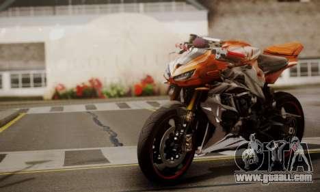 Kawasaki Z1000 2014 for GTA San Andreas