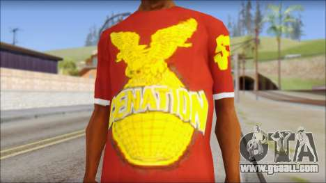 Cenation EHacker Shirt for GTA San Andreas third screenshot