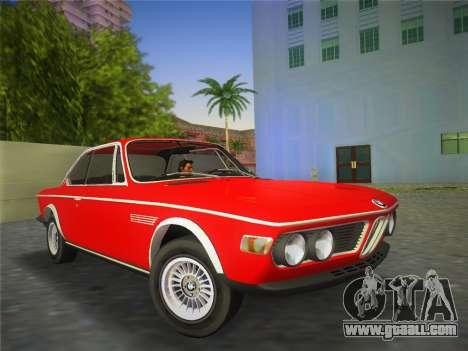 BMW 3.0 CSL 1971 for GTA Vice City