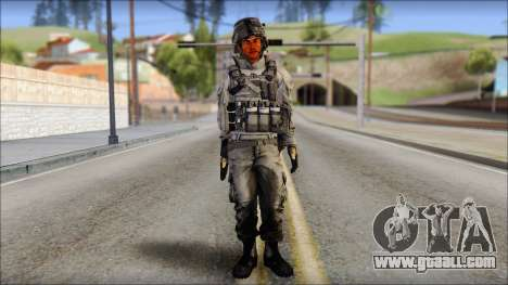 New Los Santos SWAT Beta HD for GTA San Andreas