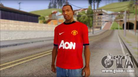 Manchester United 2013 T-Shirt for GTA San Andreas