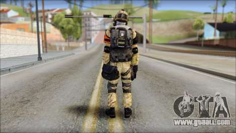 Opfor PVP from Soldier Front 2 for GTA San Andreas second screenshot