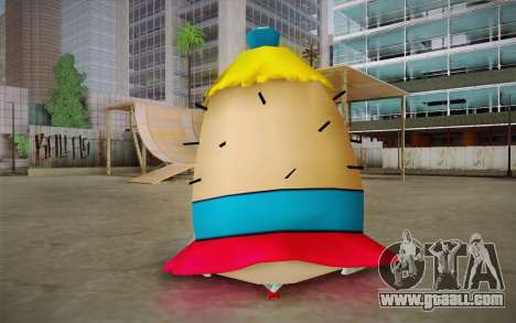 Mrs. Puff from Sponge Bob for GTA San Andreas second screenshot