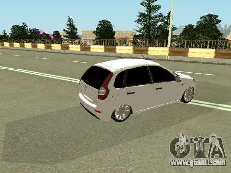 Lada Kalina 2 for GTA San Andreas right view