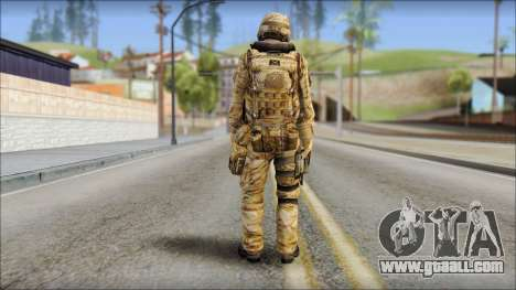 Desert UDT-SEAL ROK MC from Soldier Front 2 for GTA San Andreas second screenshot