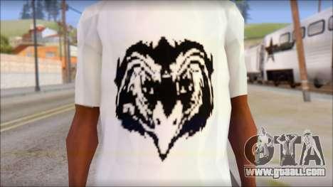 Free Bird T-Shirt for GTA San Andreas third screenshot