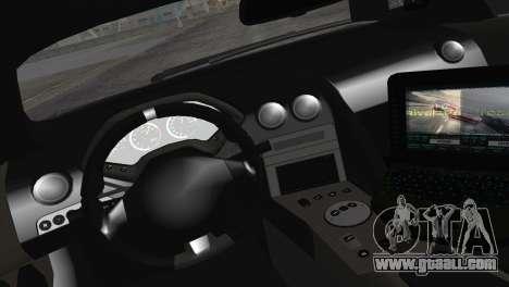 Lamborghini Murcielago LP670 SV Police for GTA San Andreas back view