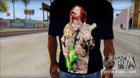 Max Cavalera T-Shirt v1 for GTA San Andreas third screenshot