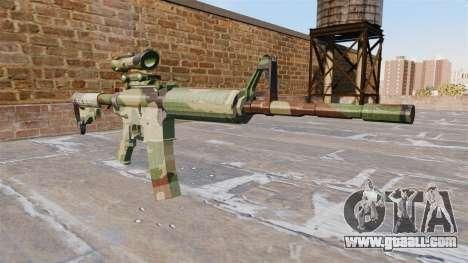 Automatic carbine MA NATO Camo for GTA 4