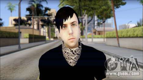 Billy from Good Charlotte for GTA San Andreas third screenshot