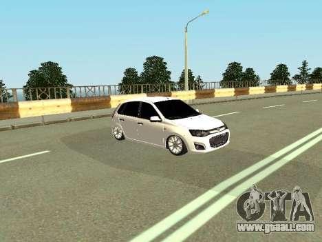 Lada Kalina 2 for GTA San Andreas left view