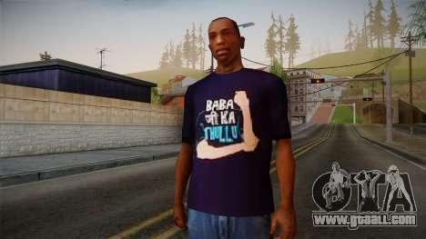 Babaji ka thullu T-Shirt for GTA San Andreas