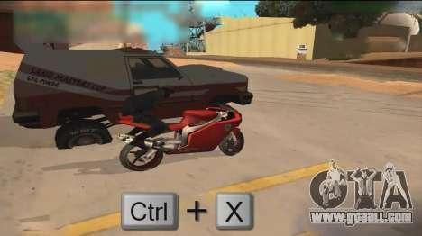 Car Hack for GTA San Andreas third screenshot