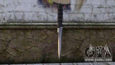 Knife from Resident Evil 6 v2 for GTA San Andreas second screenshot