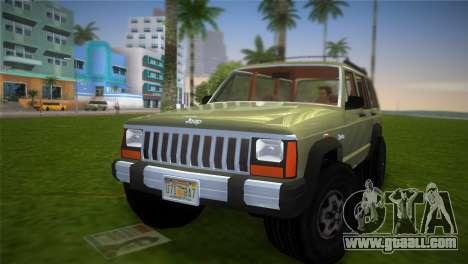 Jeep Cherokee v1.0 BETA for GTA Vice City