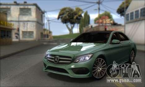 Mercedes-Benz C250 V1.0 2014 for GTA San Andreas