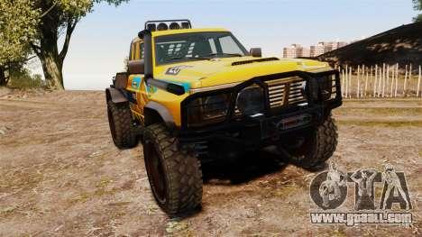 Nissan Patrol Buggy for GTA 4