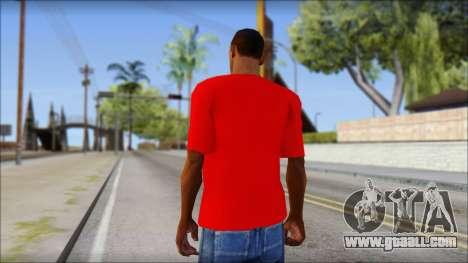 Turkish Football Uniform v4 for GTA San Andreas second screenshot