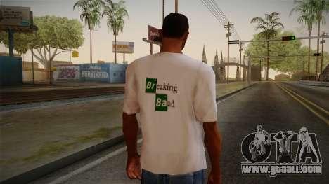Breaking Bad Shirt for GTA San Andreas second screenshot