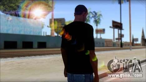 WWE Nexus T-Shirt for GTA San Andreas second screenshot