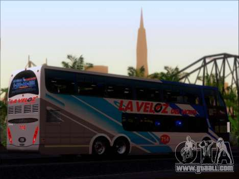 Metalsur Starbus DP 1 6x2 - La Veloz del Norte for GTA San Andreas inner view