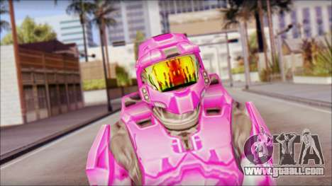 Masterchief Pink from Halo for GTA San Andreas