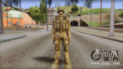 Desert GROM from Soldier Front 2 for GTA San Andreas
