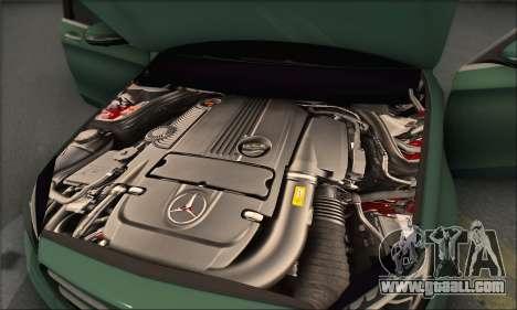 Mercedes-Benz C250 V1.0 2014 for GTA San Andreas interior