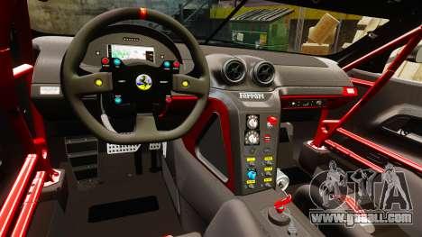 Ferrari F599 XX Evoluzione Simple CarbonFiber for GTA 4 inner view
