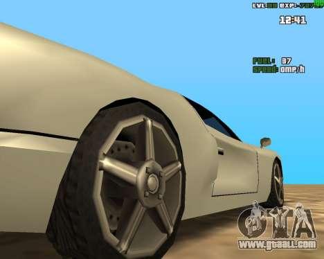 Crazy Car for GTA San Andreas second screenshot